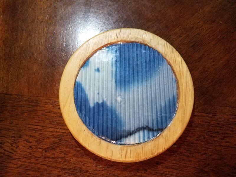 Cyanotype Coaster