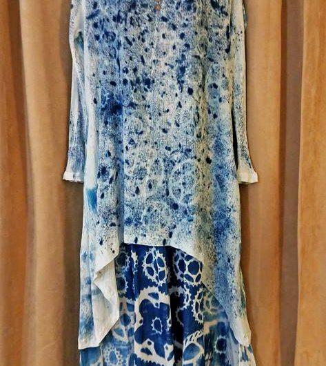 Steampunk Belle – Cyanotype Clothing