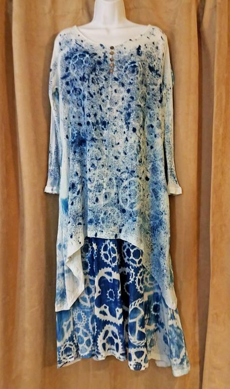 Cyanotype Dress