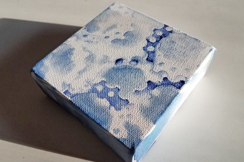 Cyanotype Square for Brush Gallery 2018