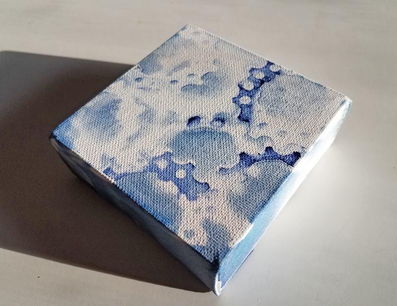 brush gallery cyanotype square