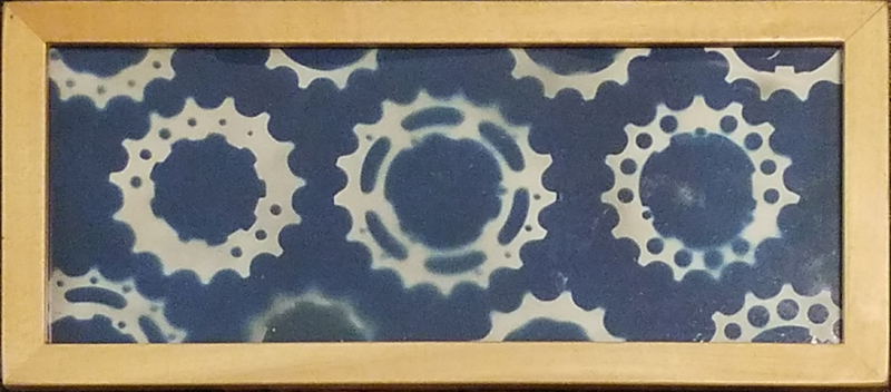 Cyanotype Bicycle Gears